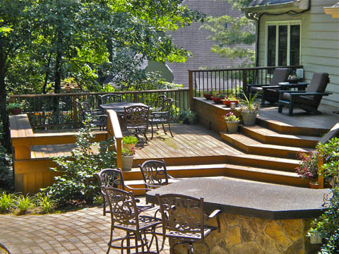 how to treat your deck like a patio, decks, outdoor living, patio