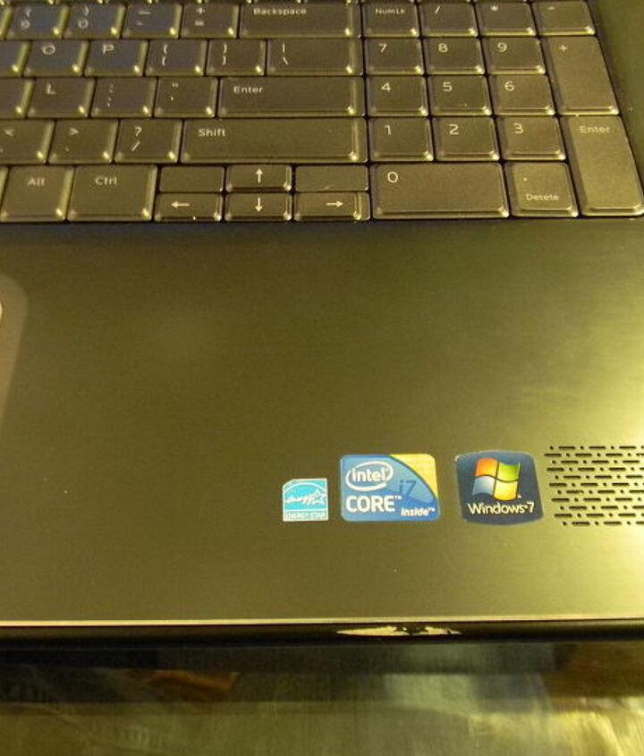 Energy Star sticker on my laptop.