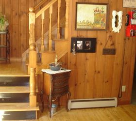 Q I Need To Stain My Pine Stairs Risers Will Be Painted Not Sure, Diy,