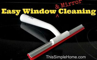 easy mirror and window cleaning, cleaning tips, windows