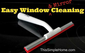 Easy Mirror and Window Cleaning