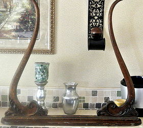 Re Purposed Antique Mirror Frame, Foyer, Home Decor, Repurposing Upcycling