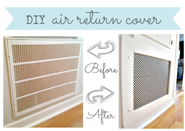 How To Make A Decorative Air Return Vent Cover Hometalk
