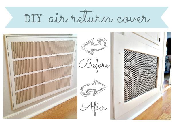 How To Make A Decorative Air Return Vent Cover Hometalk