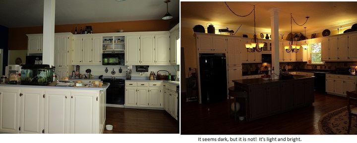 kitchen face lift on a budget, doors, home decor, kitchen backsplash, kitchen design, kitchen island