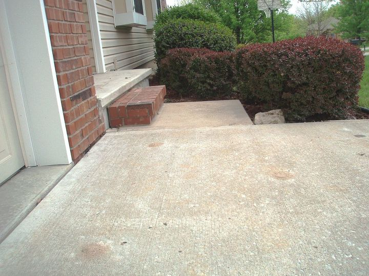 hey hometalkers if you have settled or sinking concrete here in atlanta slabjack, AFTER