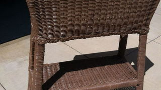 q i need furniture leg tips for outdoor wicker plant stands, gardening, outdoor furniture, painted furniture