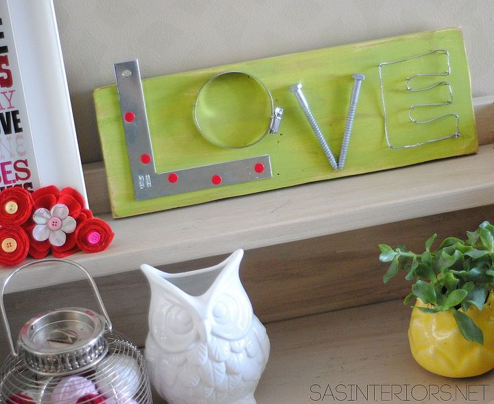 love connection wood sign, crafts, seasonal holiday decor, valentines day ideas