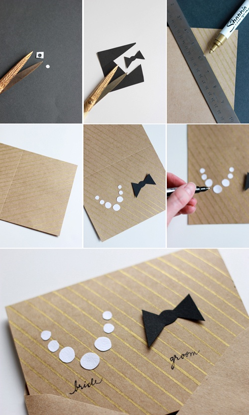 Do a wedding invitation by yourself hometalk do a wedding invitation by yourself crafts it is easy to make this one solutioingenieria Images