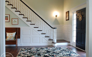 foyer before after, foyer, home decor, After