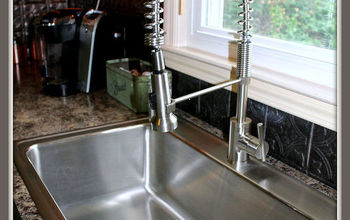 elkay kitchen sink and danze faucet makeover, diy, kitchen design, plumbing