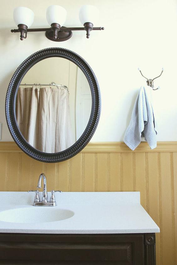 bathroom makeover on a budget, bathroom ideas, painting