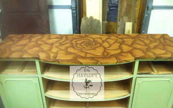 Rose Stained Buffet