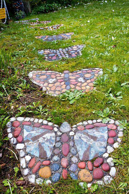 butterfly path, gardening, landscape, outdoor living