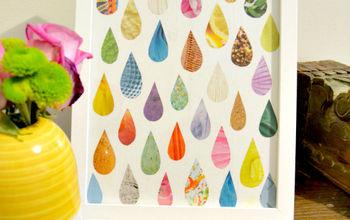 Easy Raindrop Magazine Art
