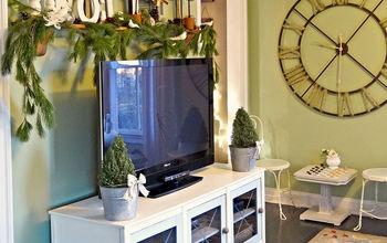 entertainment unit redo before and after, home decor, painted furniture