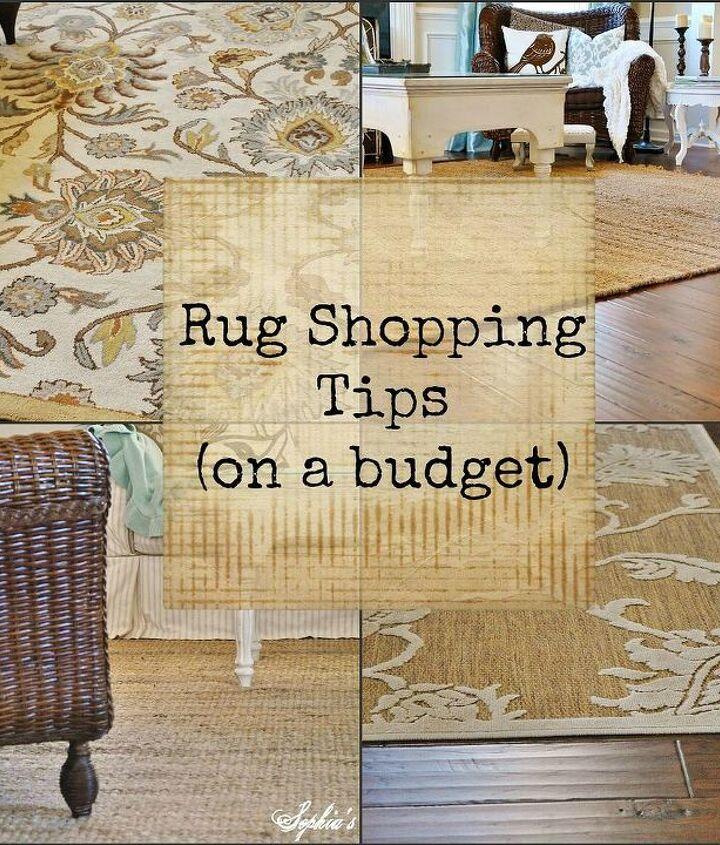 rug shopping tips on a budget, flooring, home decor