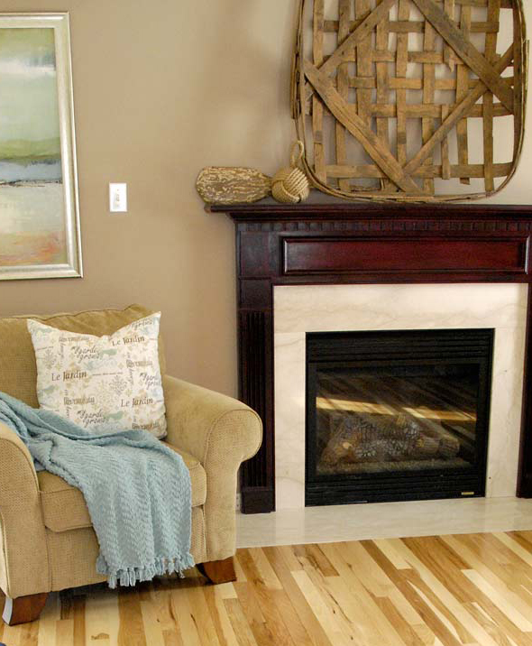 q what color should i paint our fireplace surround, fireplaces mantels, home decor, painting, Here s what our mantel looks like now