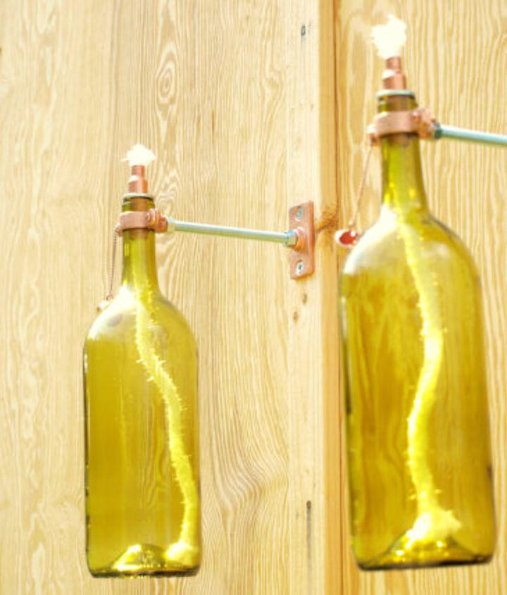 upcycle wine bottles, repurposing upcycling