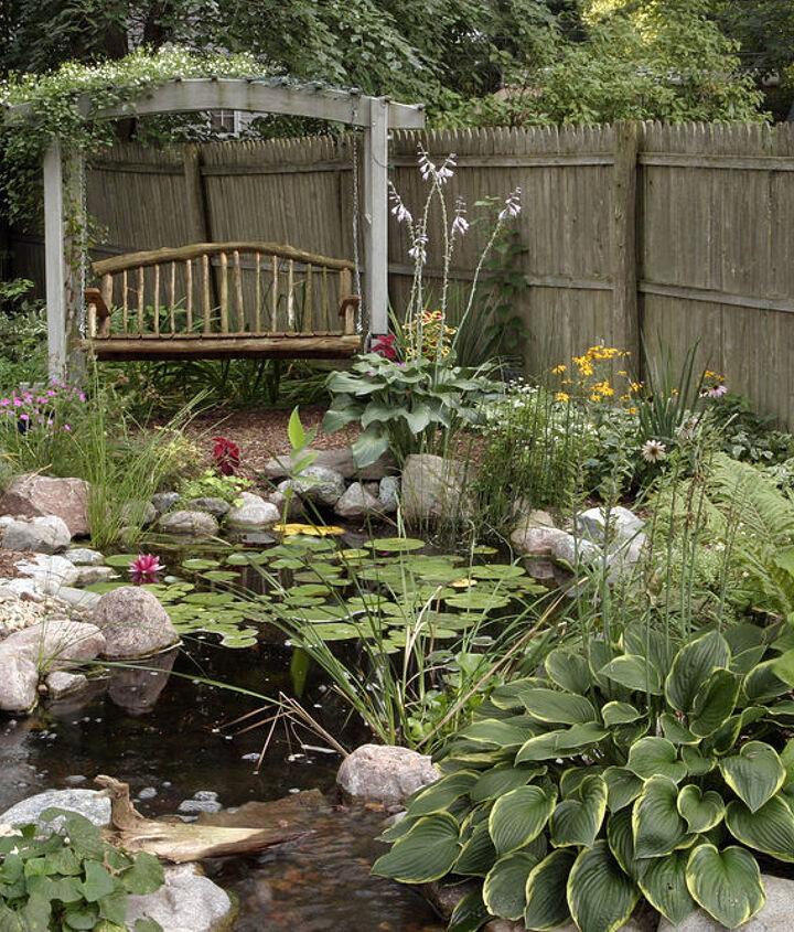 water gardens, outdoor living, ponds water features