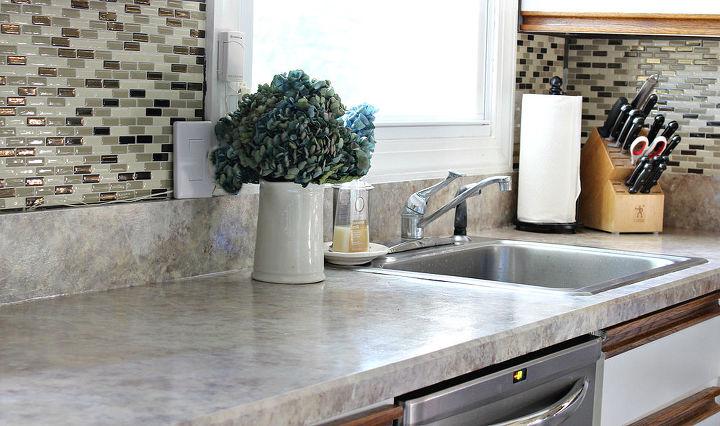 painted laminate countertops, countertops, painting