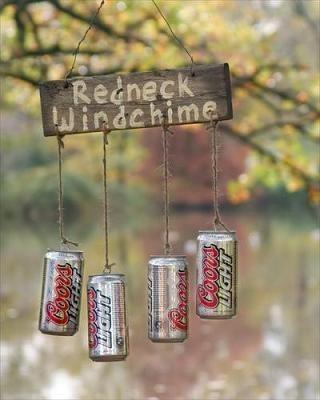 redneck wind chimes, crafts, gardening, repurposing upcycling