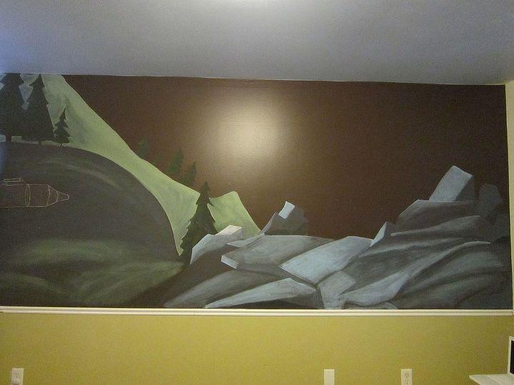 Background painting finished.