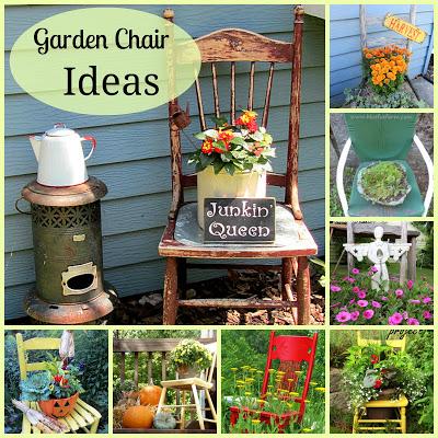 Great Garden Chair & Planter Ideas | Hometalk