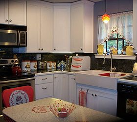 My 1940 S Inspired Kitchen Renovation, Home Improvement, Kitchen Design,  Left Of Sink