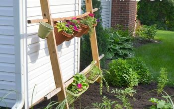 vertical garden o pots, diy, flowers, gardening, how to