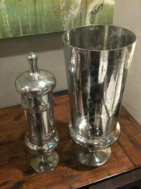 make your own mercury glass, crafts