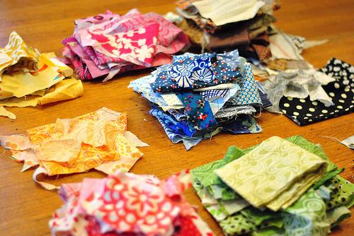 Rag Rug From Scrap Fabrics Hometalk