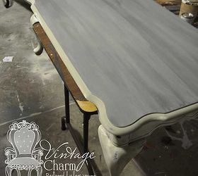 Superieur Weathered Grey Coffee Table, Painted Furniture, Shabby Chic, Stained Top  Over The Magnolia