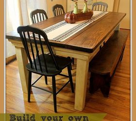 How To Build Your Own Farmhouse Table For Under 100 Diy, Diy, How To