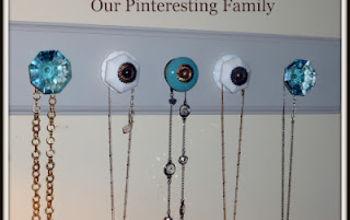 Anthropologie Knob Necklace Organizer