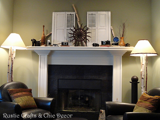 Decorating A Mantel With Lots Of Vintage Finds Hometalk