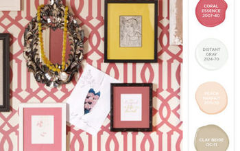 Stenciling With Benjamin Moore's 2014 Color Trends