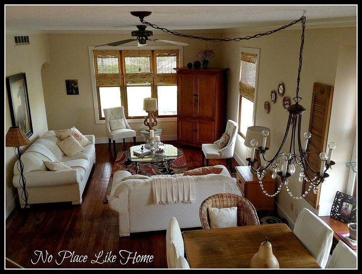 vintage farmhouse deco, home decor, living room ideas