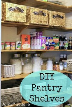 pantry makeover, cleaning tips, closet, diy, painting, woodworking projects, My newly organized pantry might be my favorite room in our house