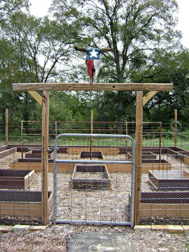 Raised bed garden made from salvaged wood hometalk - Craigslist little rock farm and garden ...
