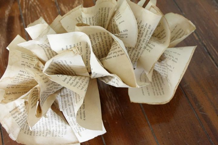 ruffled book pages