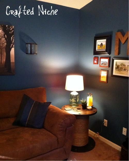 Spool in living room