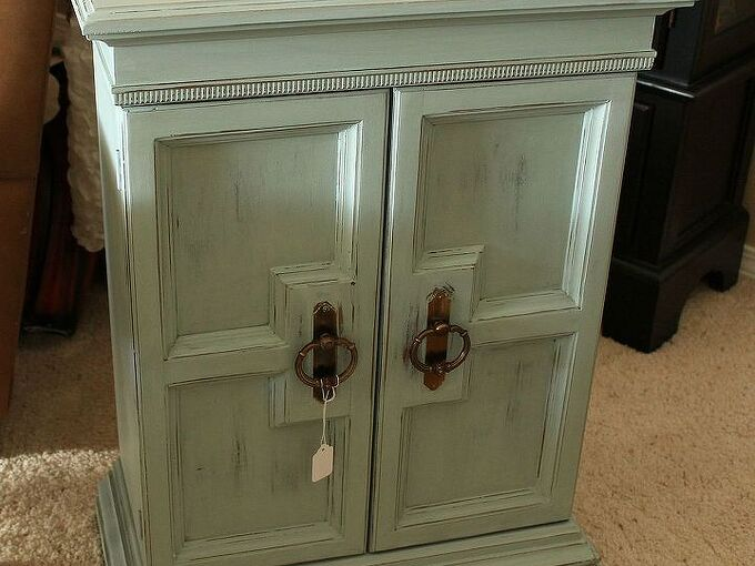 chalk painted cabinet, chalk paint, painted furniture