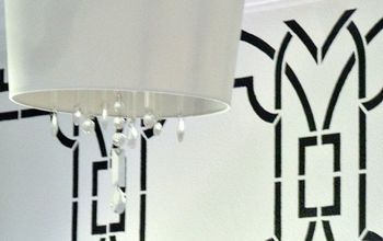 DIY Chandelier With Shade for Under $20