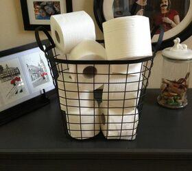 Pretty Toilet Paper Storage Solutions