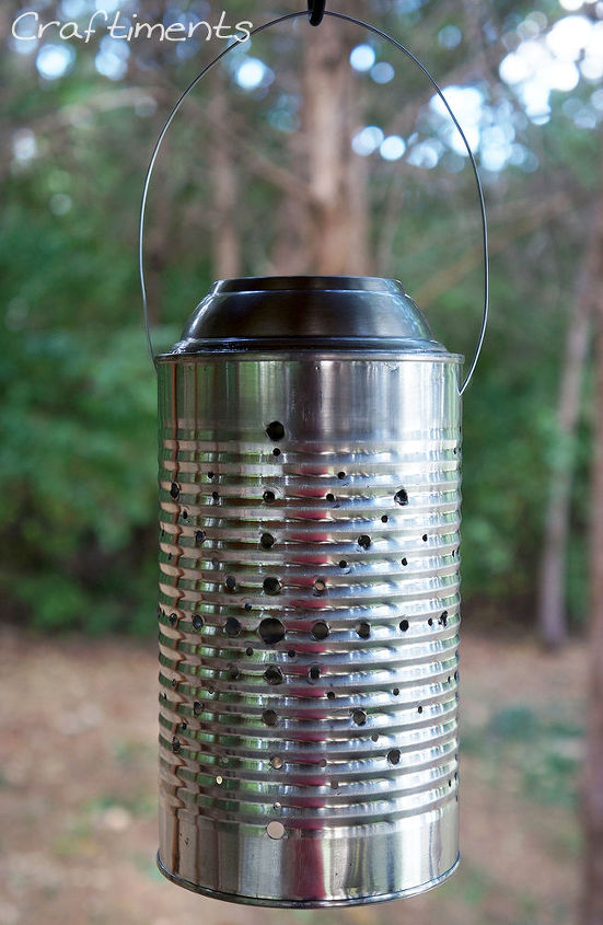 tin can solar lantern tutorial, diy, how to, outdoor living, repurposing upcycling, Step 8 Charge it up in the sun