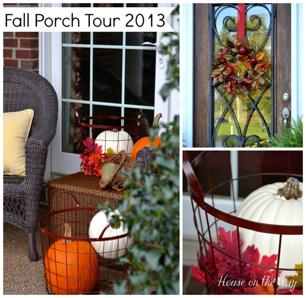 Welcome to my Fall Porch Tour 2013
