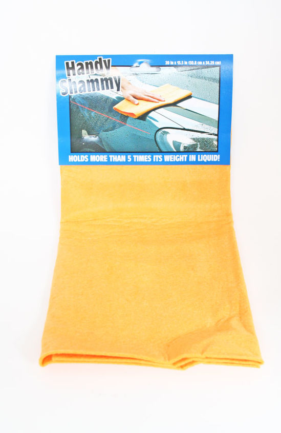Car Drying Cloth for the Shower: Never clean your shower again by wiping down your shower daily with this highly absorbent drying cloth. It eliminates any chance to mold and mildew to thrive by taking away their wet living area!