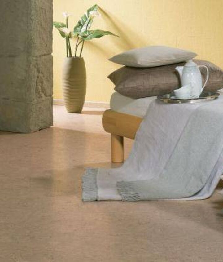 Cork flooring is cheaper than hardwood and is much more durable and easier to maintain. Thanks to a certain substance in the cork, it has great pest-repelling qualities. It cannot be damaged by water and is great for every room!