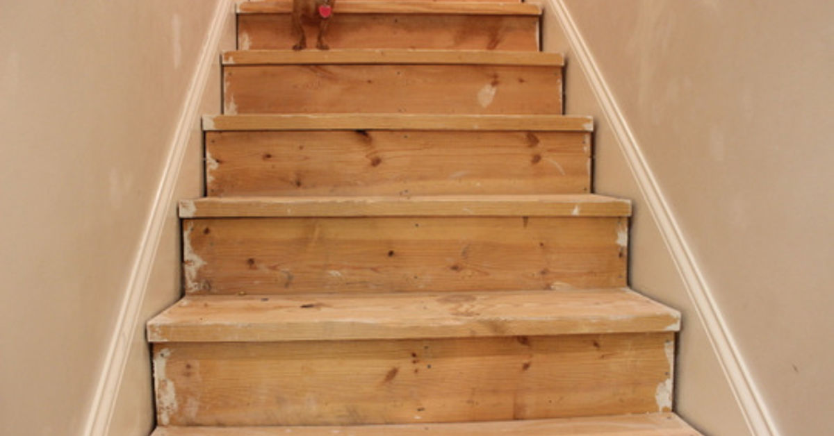 stair redo phase 1 complete hometalk